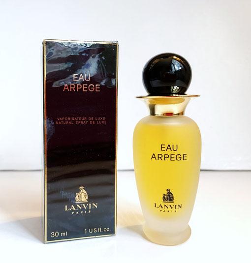 EAU D'ARPEGE - FLACON VAPORISATEUR 30 ML : FLACON EN VERRE PATINE, BOUCHON BOULE NOIR