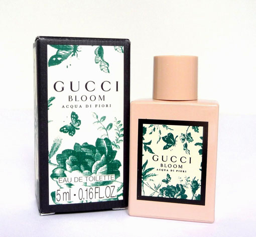 2018 - GUCCI BLOOM ACQUA DI FIORI : EAU DE TOILETTE 5 ML