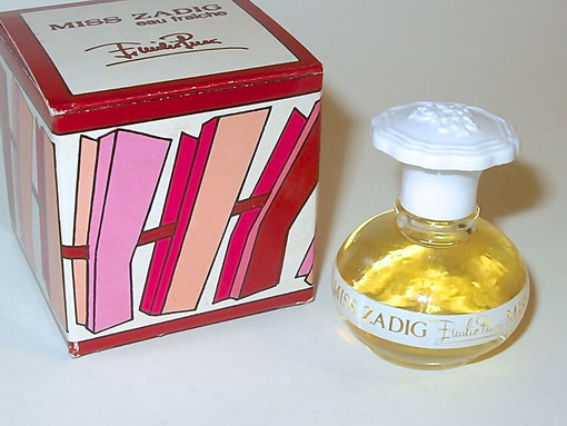 EMILIO PUCCI - MISS ZADIG : EAU FRAÎCHE - IDENTIQUE A CELLE DE LA PHOTO PRECEDENTE