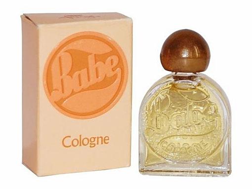 FABERGE - BABE - MINIATURE COLOGNE : BOUCHON FACON BOIS
