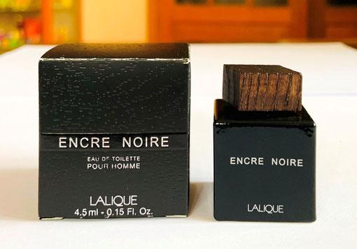 MINIATURE ENCRE NOIRE : EAU DE TOILETTE POUR HOMME 4,5 ML