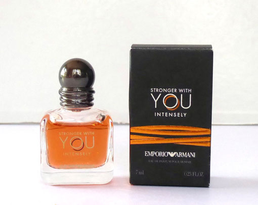 2019 - STRONGER WITH YOU INTENSELY : EAU DE PARFUM POUR HOMME 7 ML