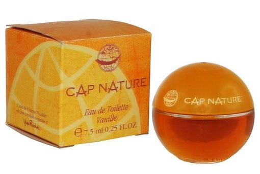CAP NATURE - EAU DE TOILETTE VANILLE 7,5 ML - FLACON FORME BOULE