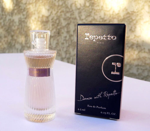 2018 - DANCE WITH REPETTO : EAU DE PARFUM 4,5 ML