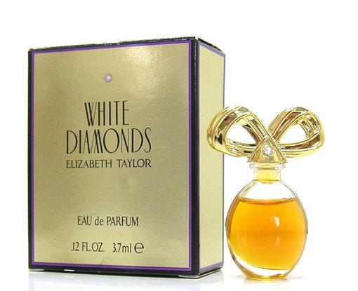 TAYLOR EL. - WHITE DIAMONDS : EAU DE PARFUM 3,7 ML