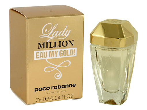 2014 - LADY MILLION EAU MY GOLD ! - EAU DE TOILETTE 7 ML