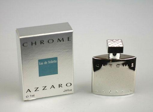 AZZARO CHROME - EAU DE TOILETTE POUR HOMME 7 ML : FLACON ARGENTE
