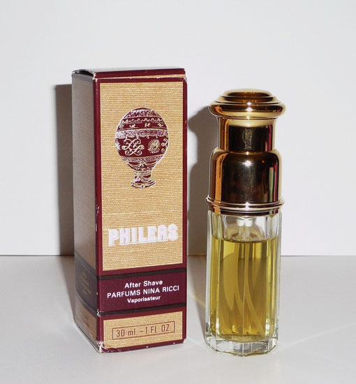 PHILEAS - FLACON VAPORISATEUR AFTER SHAVE - 30 ML