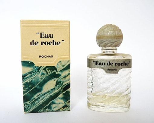 """ROCHAS - """"EAU DE ROCHE"""" - CONTENANCE NON INDIQUEE SUR LA BOÎTE - BOUCHON BOULE EN PLASTIQUE"""