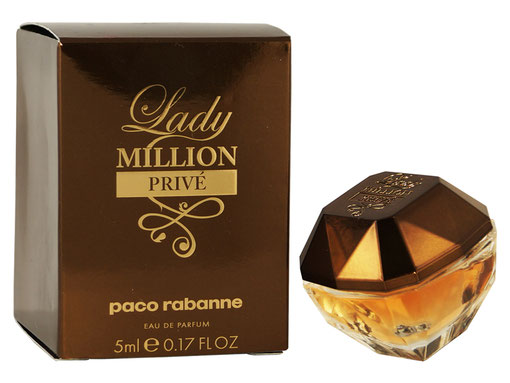 2016 - LADY MILLION PRIVE : EAU DE PARFUM 5 ML
