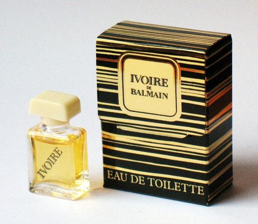 IVOIRE - MINIATURE EAU DE TOILETTE 2 ML - DANS BOÎTE A RABAT, CONTENANCE NON INDIQUEE SUR LA BOÎTE