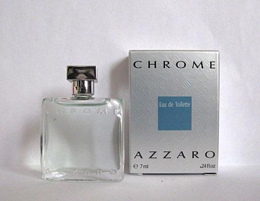 AZZARO CHROME - EAU DE TOILETTE POUR HOMME 7 ML - BOÎTE UN PEU DIFFENTE