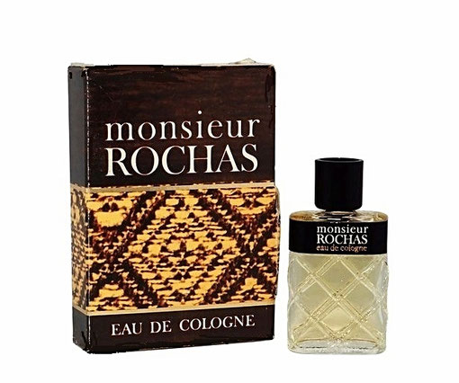 MONSIEUR ROCHAS - EAU DE COLOGNE, MINIATURE ANCIENNE
