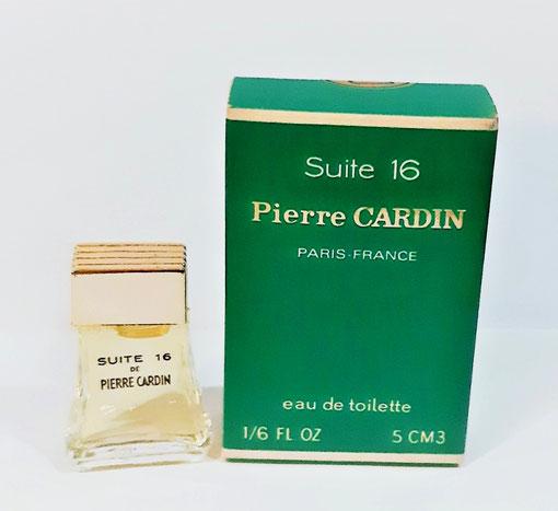 PIERRE CARDIN - SUITE 16 : ANCIENNE MINIATURE EAU DE TOILETTE 5 ML