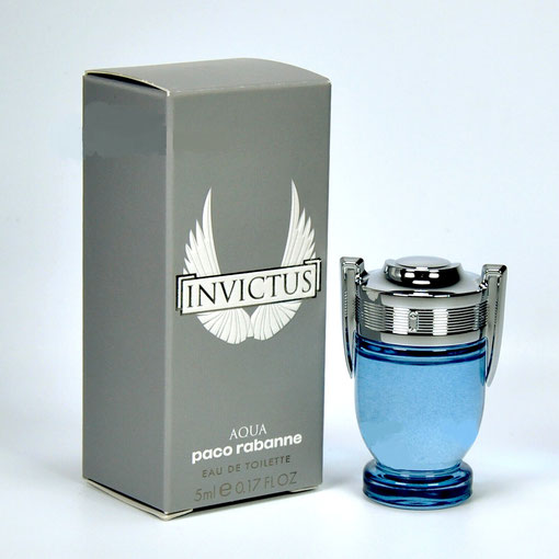 4)  2018 - INVICTUS : EAU DE TOILETTE AQUA 5 ML