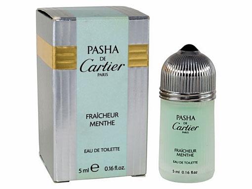 PASHA DE CARTIER - EAU DE TOILETTE FRAÎCHEUR MENTHE 5 ML