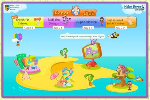 Online Spielewelt von Helen Doron