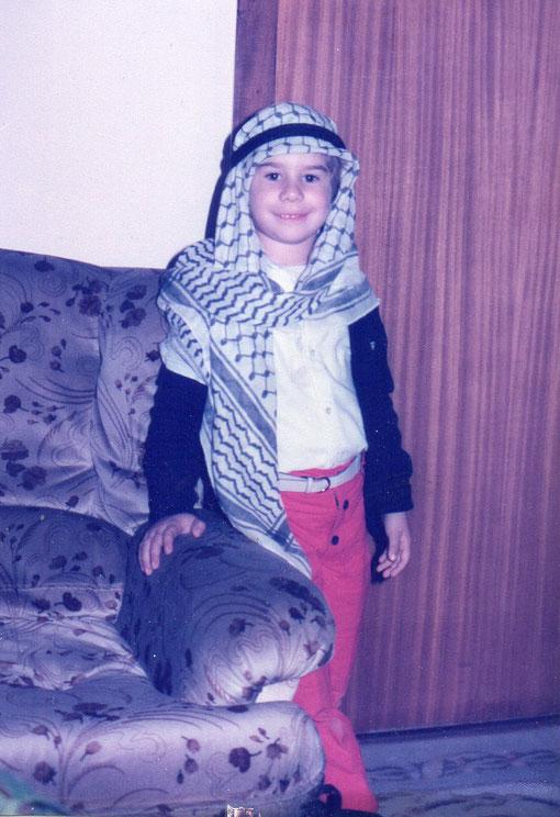 ¡ Qué árabe mas guapo !