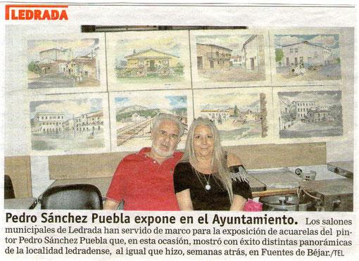 Reportaje de la exposición de Ledrada 2011.