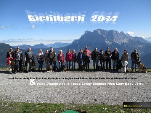 Ausflug Bichlbach 2014