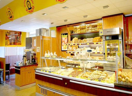 Der Backshop der Mühlenbäckerei Schmacke im EDEKA aktiv markt Hollenstedt
