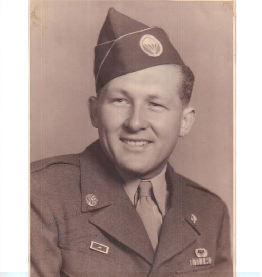 John D. Segel - Combat Medic 101st Airborne Division (Photo courtesy Randy Wong)
