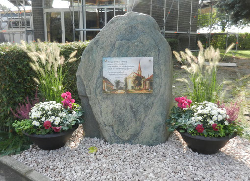 Gedenkstein, Daisbacher Friedhof, Einweihung 23. Sept. 2012