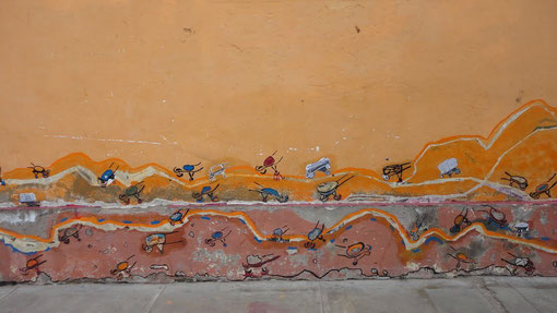Foto-Instalación I Bienal de Arte Urbano de Cochabamba 2011