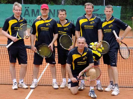 Ingo Ermold, Holger F. Koeppl, Uwe Faeseler, Siegfried Greiner, Joachim Stauss, Uli Maurer (v.l.)