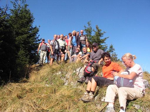 Leichte Touren, z. B. auf den Schwarzkogel am Hengstpass