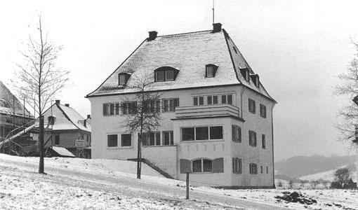 Das Haus im Winter 1938/39 Ostseite