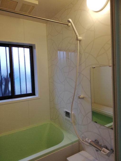 水回り5点セットの浴室施工後写真