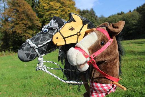 Kindergeburtstage ohne Pony mit Steckenpferd Hobby Horsing