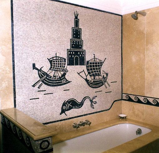 mosaicos baños