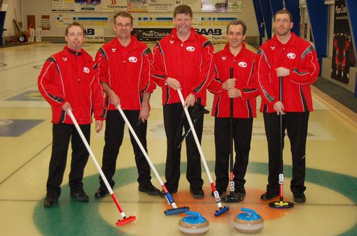 Stephan Kuhn, Edwin Ebnöther, Martin Risch, Severino Parati, Andreas Janner