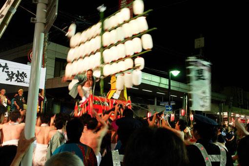 これがまき夏祭り&やかた竿燈!ア・ツ・イです