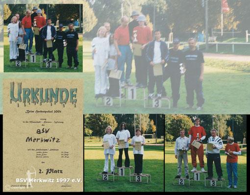 Foto - Herbstpokal 2001 - BSV Merkwitz 1997 e.V.