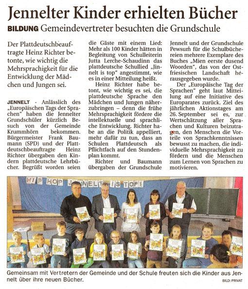 Ostfriesenzeitung 04.10.2018