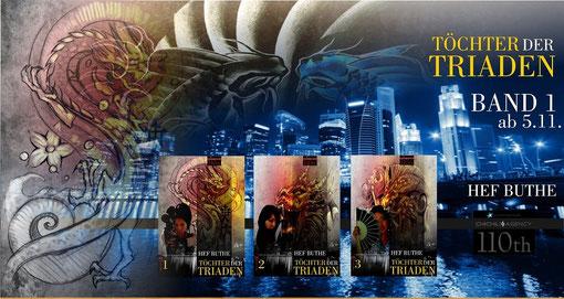 """Asien Trilogie """"Töchter der Triaden"""" ... ursprüngliche Coverversion"""