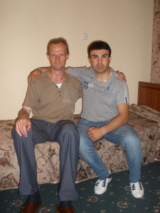Эдвардас Баликас - известный биоэнергетик из Каунаса ( Литва ) с ясновидящим Аликом из Азербайджана