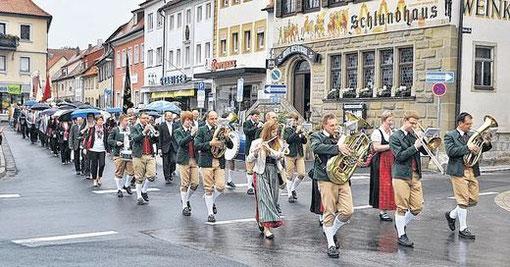 Festzug - 140-jähriges Jubiläum 2012