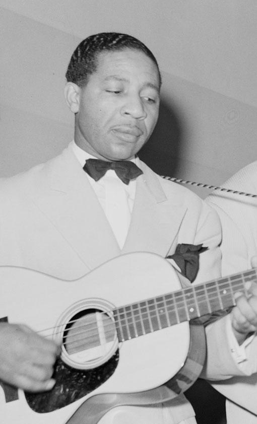 Lonnie Johnson en 1941. Photo Russell Lee.