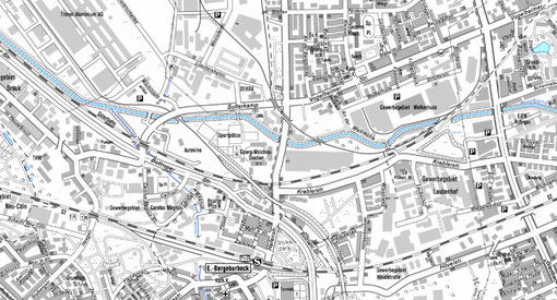 Denkmalkarte der Stadt Essen (Ausschnitt GMS)