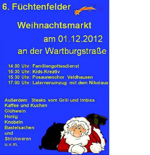 Weihnachtsmarkt in Füchtenfeld