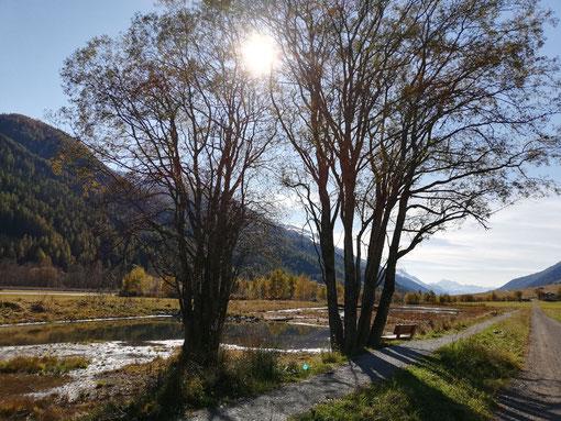 Herbststimmung am GeschinerSee