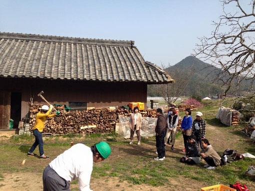 薪割り体験会を開催いたします。