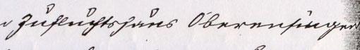 """""""Zufluchtshaus Oberensingen"""", Quelle: StaNt: Protokoll der Armendeputation vom 07.06.1907, §. 184"""