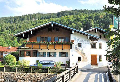 Ferienwohnungen Ramsau - Haus am Bachrand