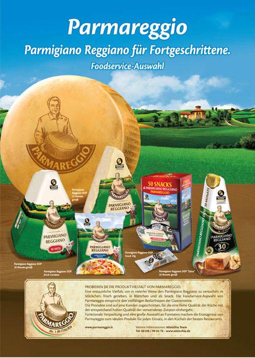 Parmareggio - Sortiment HoReCa