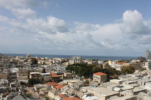 Vue sur mer panoramiquecôté ouest de l'immeuble